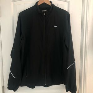 Men's New Balance Black Lightening Dry Jacket